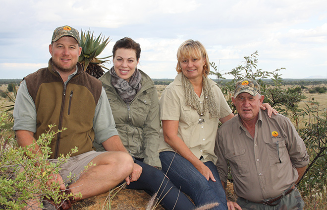 Our Family at Omatako Hunting Trails